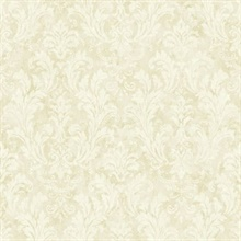 Dumont Cream Damask