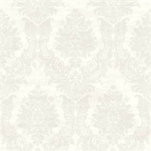 Sinclair Champagne Textured Damask