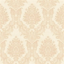 Sinclair Cream Textured Damask