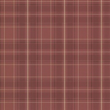 Caledonia Burgundy Plaid