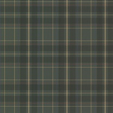 Caledonia Dark Green Plaid