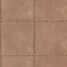 Riveted Copper Industrial Tile
