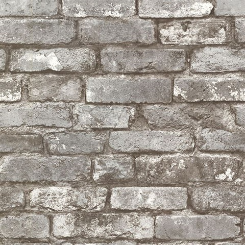 Brickwork Pewter Exposed Brick Texture