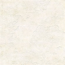 Plumant Cream Faux Plaster Texture Wallpaper