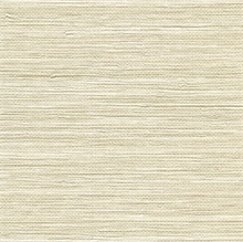 Viendra Cream Faux Grasscloth Wallpaper