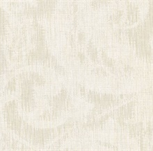 Flintley Cream Modern Swirled Damask Wallpaper
