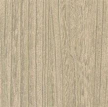 Derndle Wheat Faux Plywood Wallpaper