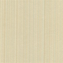 Blanchard Ginger Faux Silk Stripes  Wallpaper