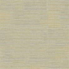 Cincinatti Champagne Reflective Metallic Stripes Wallpaper