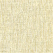 Alligator Yellow Textured Stripe Wallpaper