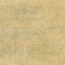 Plumant Gold Faux Plaster Texture Wallpaper
