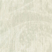Flintley Olive Modern Swirled Damask Wallpaper