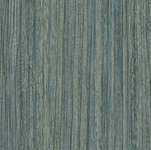 Derndle Blue Faux Plywood Wallpaper