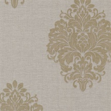 Duchess Taupe Damask