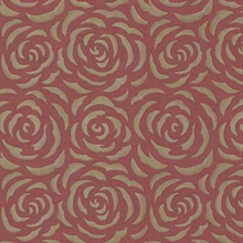 Rosette Red Rose Pattern