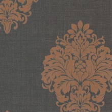 Duchess Orange Damask