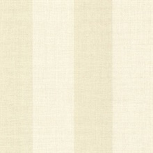 Amalfi Cream Linen Stripe