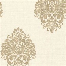 Duchess Gold Damask