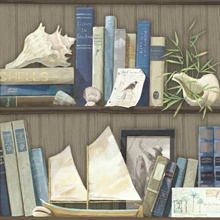 Coastal Library Bookcase