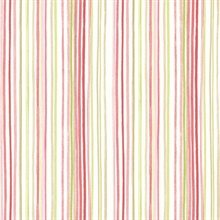 Estelle Pink Watercolor Stripe