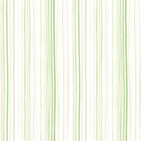 Estelle Green Watercolor Stripe