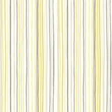 Estelle Yellow Watercolor Stripe