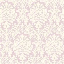 Lilac Simple Damask