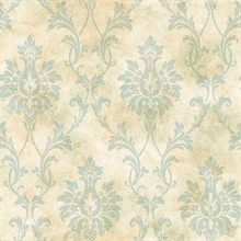 Neutral Pineapple Damask