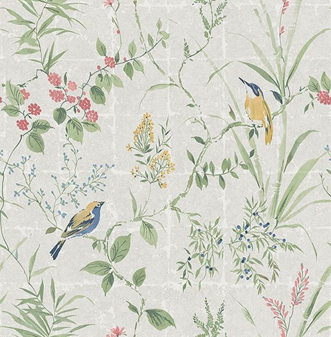 Imperial Grey Garden Chinoiserie
