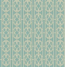 Empire Turquoise Lattice