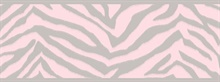 Mia Pink Faux Zebra Stripes