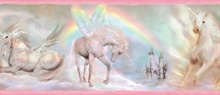 Farewell Pink Unicorn Dreams Portrait