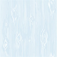 Oaked Blue Faux Wood Grain
