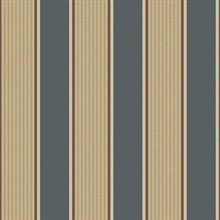 Turf Navy Stripe