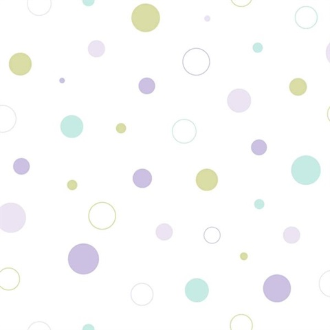 Wobbles Purple Geometric Toss