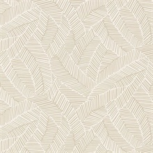 Abstract Leaf  Linen