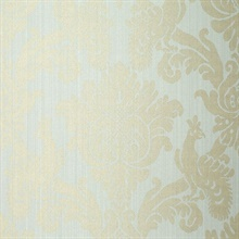 Valette Strie Damask Robins Egg