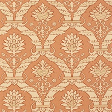 Siena Damask Terracotta