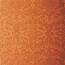 Varenna Damask Terracotta