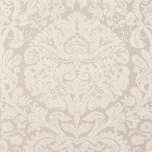 Barresa Damask Gray