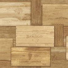 Randolph Natural Wine Crates Wallpaper