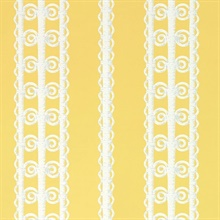 Wicker Stripe Lemon Blossom