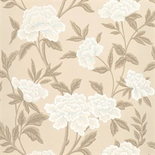 Whitney Floral Taupe