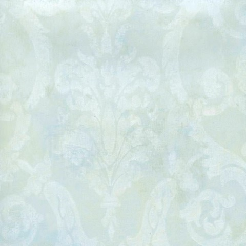 Penshurst Blue Tearose Damask
