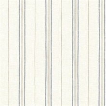 Calais Navy Grain Stripe