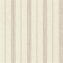 Calais Red Grain Stripe