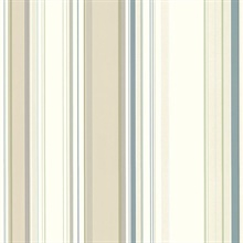 Cape Elizabeth Beige Lookout Stripe