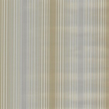 Casco Bay Pewter Ombre Pinstripe