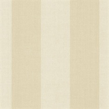 Harpswell Cream Herringbone Awning Stripe