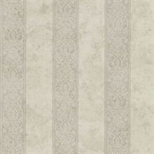 Presque Isle Taupe Regal Stripe